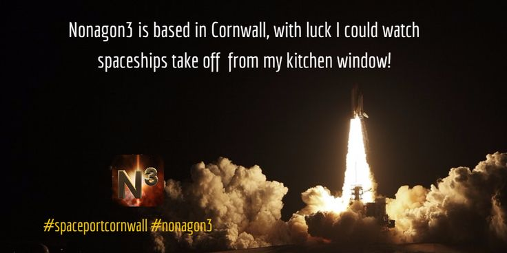Nonagon3 is based in Cornwall, with luck Newquay Airport wins the bid and I could watch spaceships take off  from my kitchen window! #cornwallspaceport #nonagon3 #indiedev #gamedev