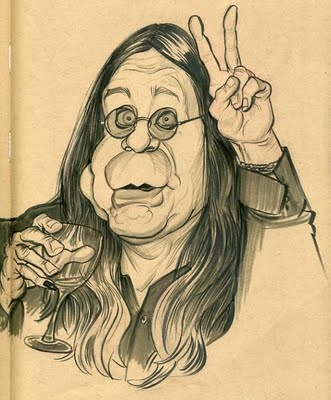 OZZY OSBOURNE ~ By Zack Wallenfang '_____________________________ Reposted by Dr. Veronica Lee, DNP (Depew/Buffalo, NY, US)