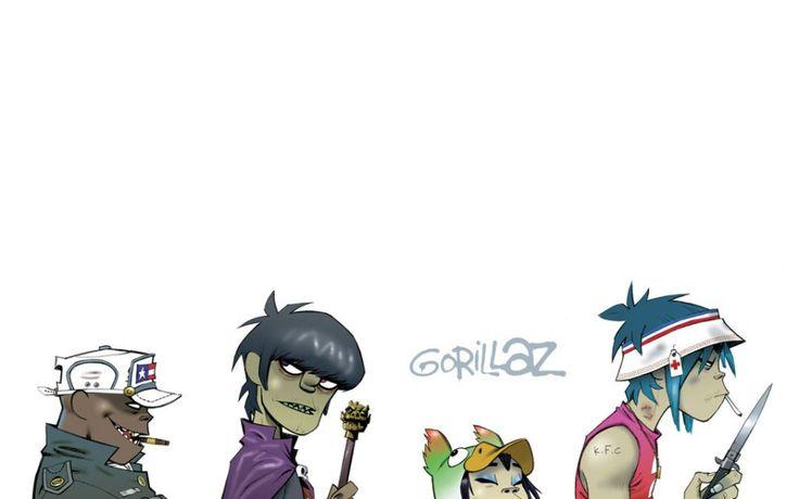 Gorillaz Band Members | gorillaz music band HD Wallpaper wallpaper - (#5316) - HQ Desktop ...