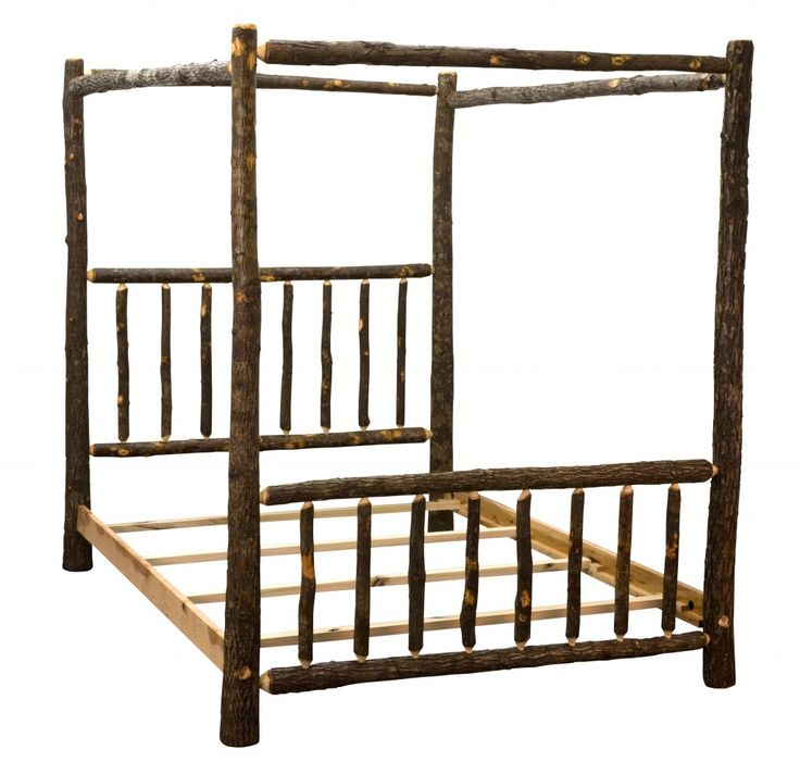 Canopy Log Bed