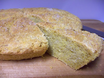 Crusty Yeasted Corn Bread Today in the bread-baking blog, we're making ...