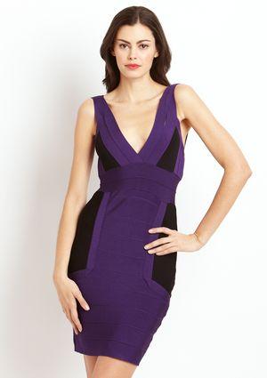 On ideeli: GRACIA Colorblock Bandage Dress