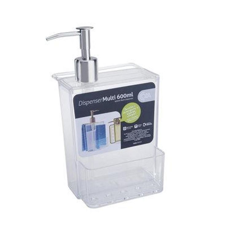 Porta Detergente 600 Ml Cristal - Submarino.com