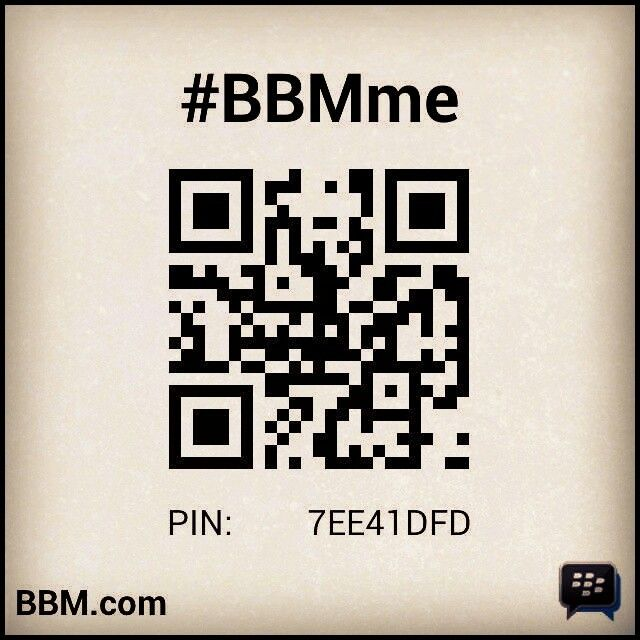 Please invite our new bbm, #BBMme