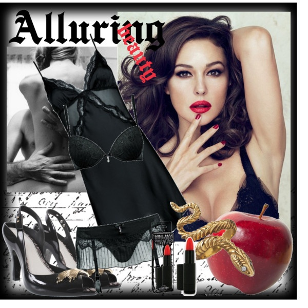Alluring beauty, created by dea-afrodite on Polyvore