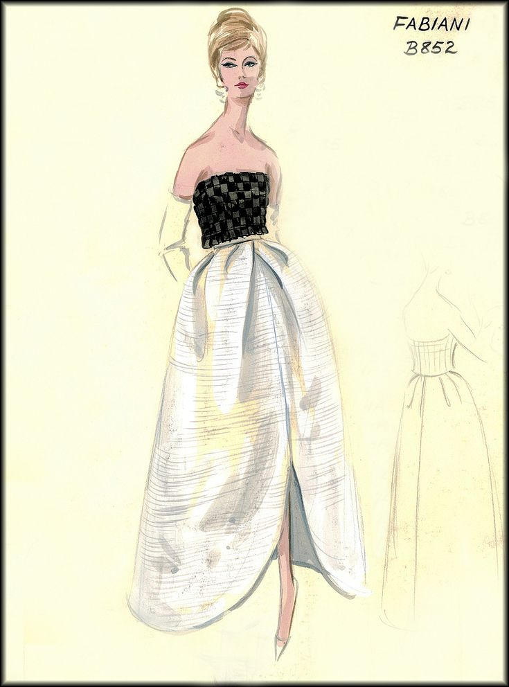 25 best ideas about vintage fashion sketches on