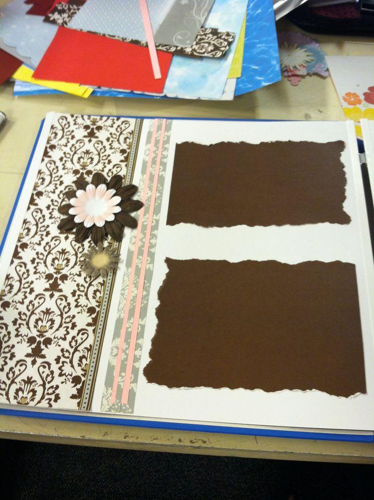 Creative Memories scrapbook page. Divine Power palette ...