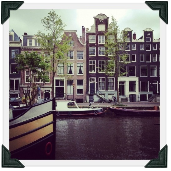 Amsterdam - it´s really nice there. SO much culture.