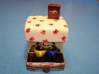 COFFEE , EXPRESSO MAKER  authentic FRENCH LIMOGES BOX      (NEW)
