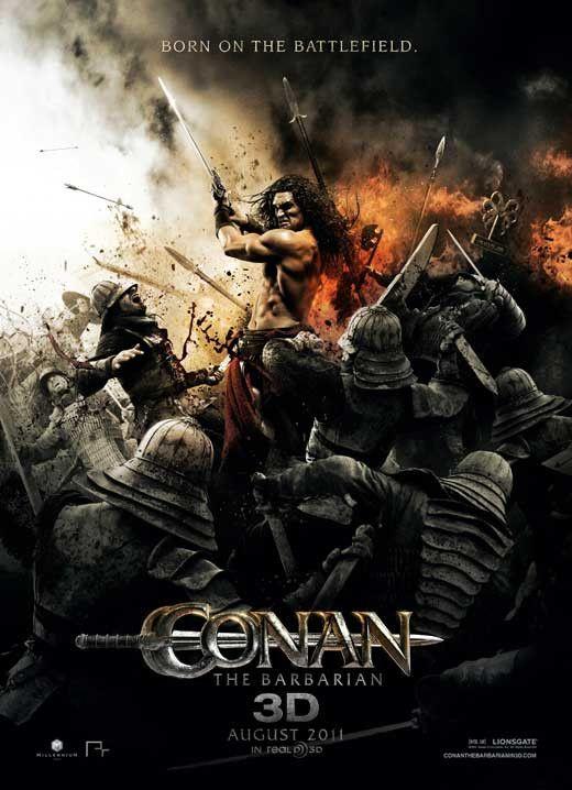 Conan the Barbarian 27x40 Movie Poster (2011)
