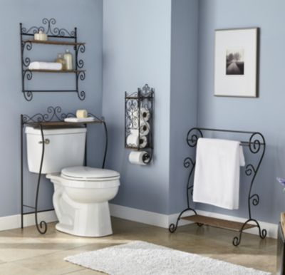 I personally like the toilet paper rack. Always running out in the downstairs bathroom. It's not fun when you rush in the door to relieve yourself and there's no toilet paper!