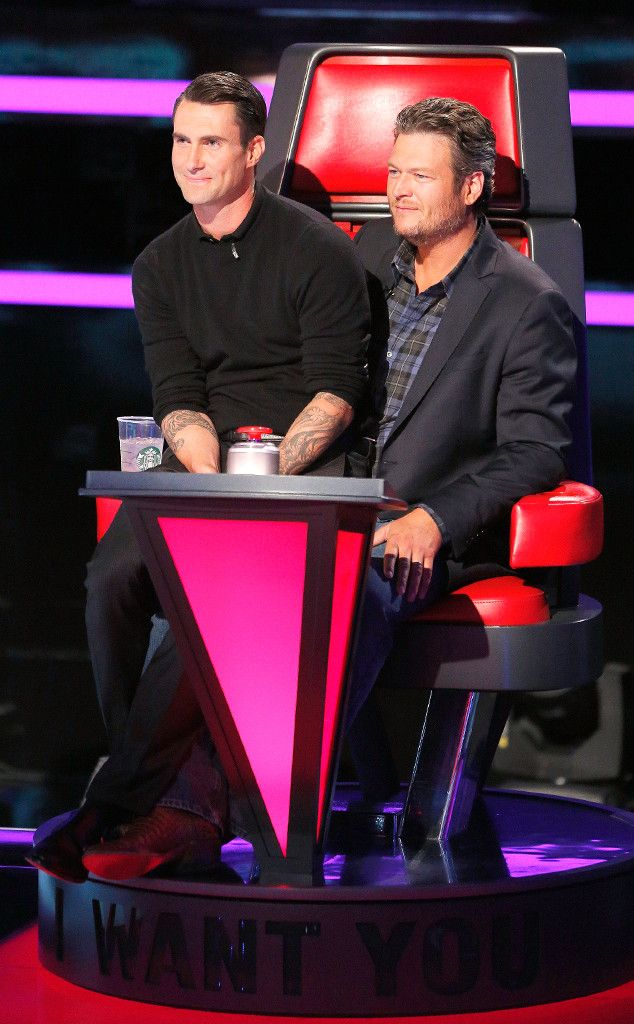 How Blake Shelton Plans to Torture Adam Levine If He Wins The Voice  The Voice, Adam Levine, Blake Shelton