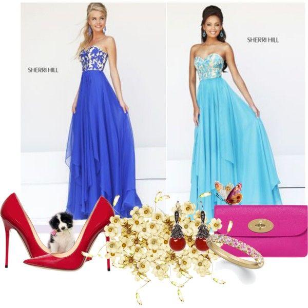 Sherri Hill Strapless Prom Dresses 2014