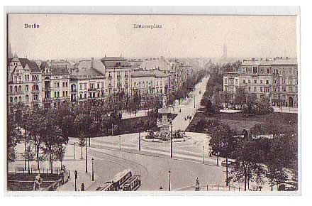 Lützowplatz  #Berlin 1900