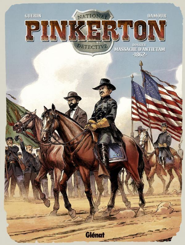 Dossier Massacre d'Antietam : 1862 - (Sébastien Damour / Rémi Guérin) - Aventure [TRIBULLES, une librairie du réseau Canal BD]
