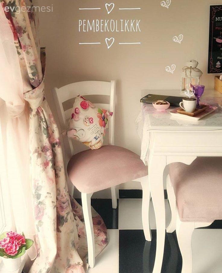 Mutfak, Mutfak masası, Pembe, Siyah-beyaz