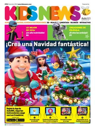 Kids News 93 - Diciembre 2016 - Argentina  Crea una Navidad fantástica