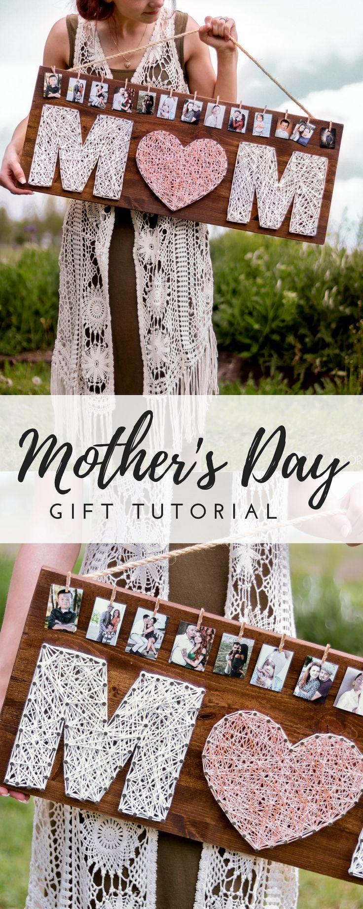 Cadeau de fête des mères fait maison-IDEA- DIY ROSE GOLD GIFT