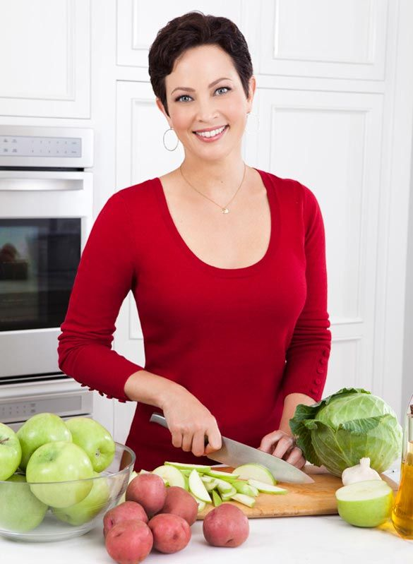 Food Network star Ellie Krieger shares 5 tips for eating better, not less. #realfood #weightloss