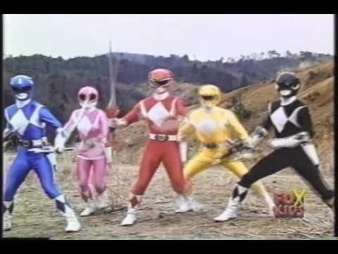 Today on Power Rangers teaser collection, season 1 part 1