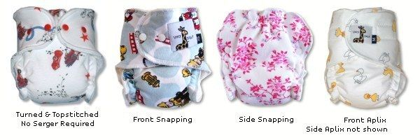 Very Baby Cloth Diaper Pattern