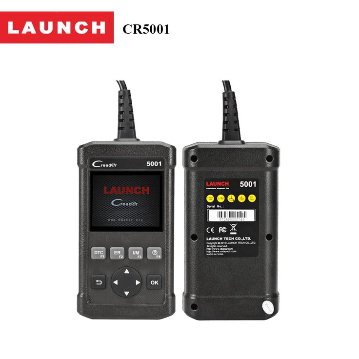 59.99$  Buy now - Car DIY Scanner Launch CReader 5001 OBD2 Code Reader Read Vehicle Information Diagnostic Tools for cars For VW/BMW/BENZ   #buychinaproducts