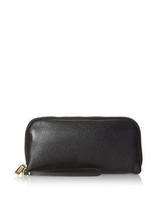 61% OFF Zenith Women's Wallet Wristlet, Black, One Size
