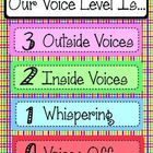 "This voice level chart makes it easy for students to ""see"" what the expected noise level in the classroom should be. Included, is one full page of ..."