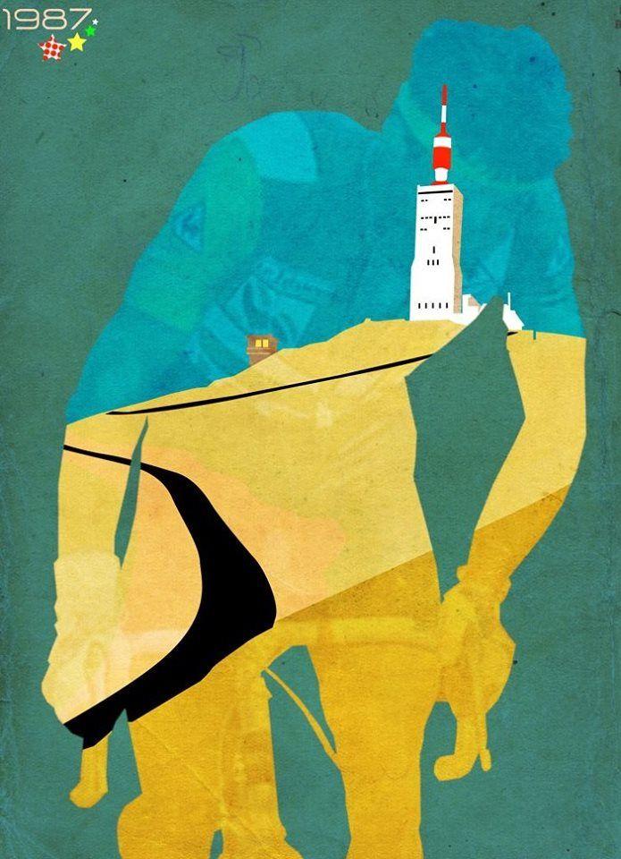 """""""Mont Ventoux is back"""" Le mont ventoux #GiantOfProvence Le Tour de France…"""