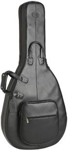 Reunion Blues - Product - Jazz/Western Acoustic Guitar Bag, Black Leather