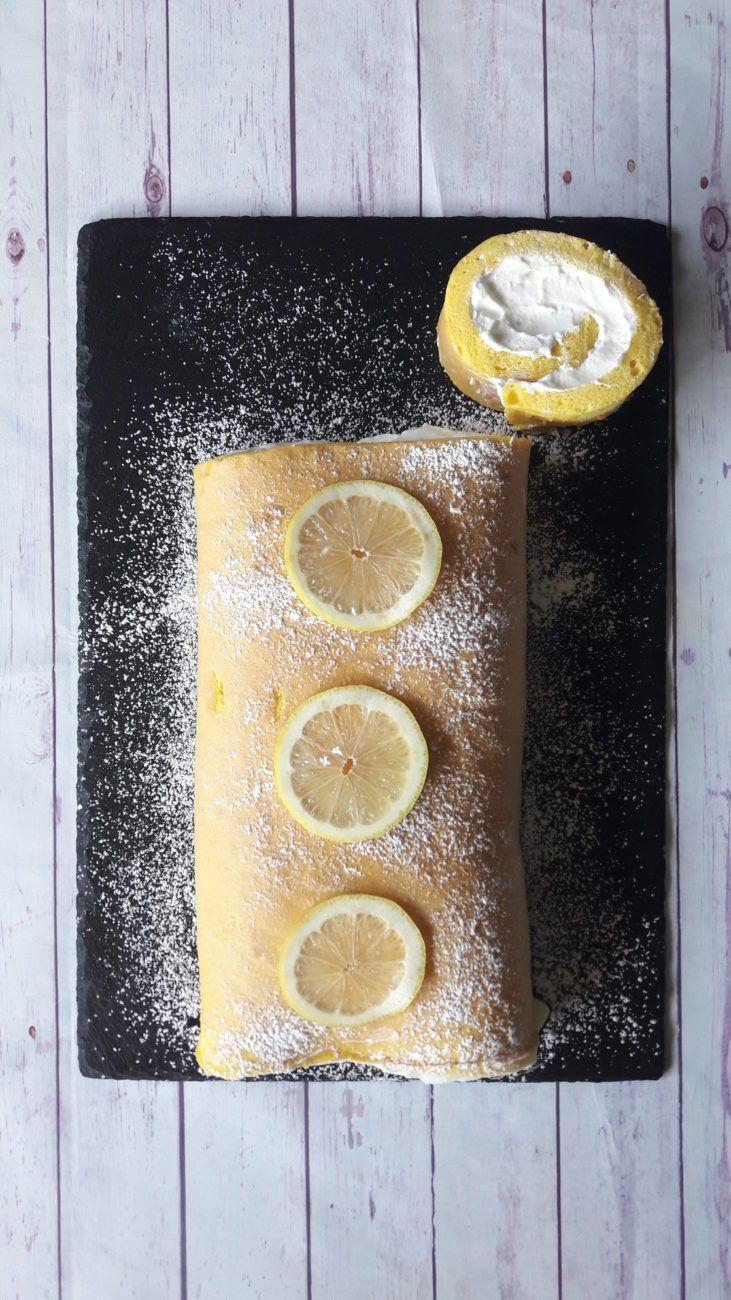 Rotolo al limone - La gaia cucina di Patty | le mie ricette ...
