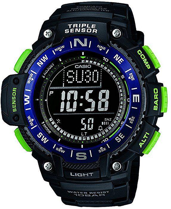 2b1a851b469 Casio Collection Herren Armbanduhr SGW-1000-2BER  Amazon.de  Uhren ...