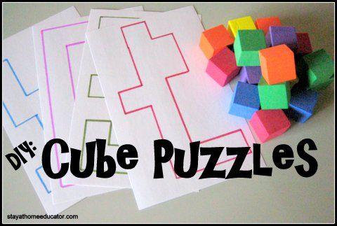 DIY Cube Puzzles