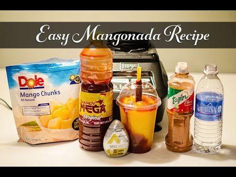 Easy Mangonada Recipe - how to make mangonada