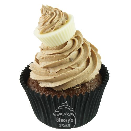 "Classic Milk Chocolate Cupcake ""The Brunette"" by Stacey's Cupcakes www.staceyscupcakes.com.au"