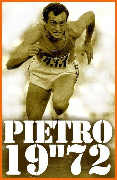 Pietro Mennea world recordman 200m