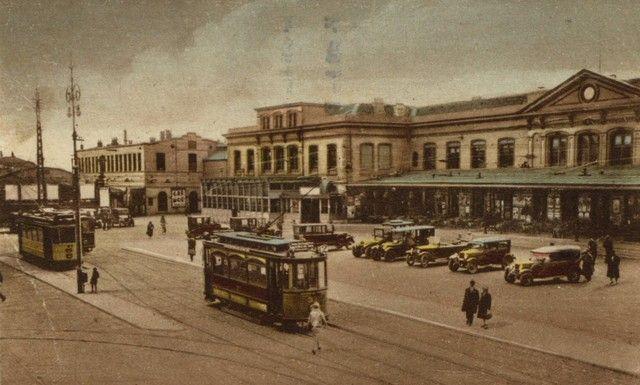 station Utrecht Centraal omstreeks 1930