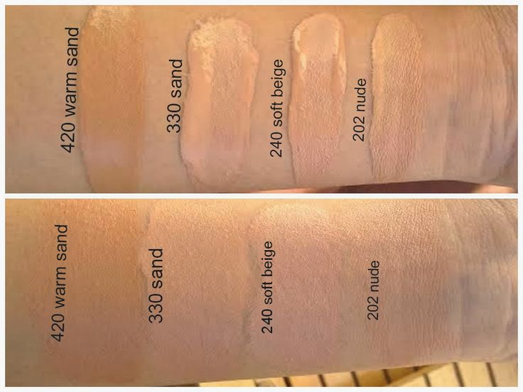 Rimmel Match Perfection Foundation Swatches In Warm Sand