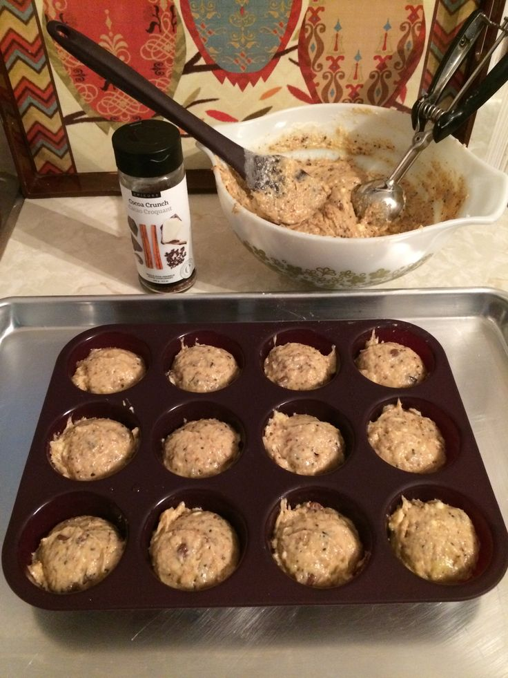 I love Epicure delivery days!! Especially when there is a new toy in the box for me!! Today I received my new silicone perfect portion muffin tray and of course had to take it for a test bake!!&nbs…