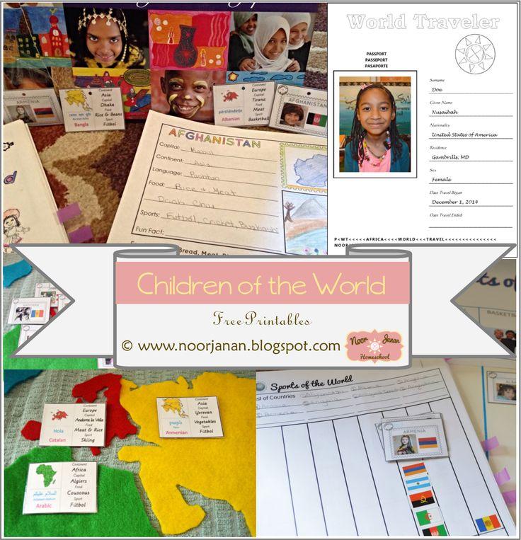 Noor Janan Homeschool: World Geography 1 * 1st 16 Countries * Afghanistan-Belarus