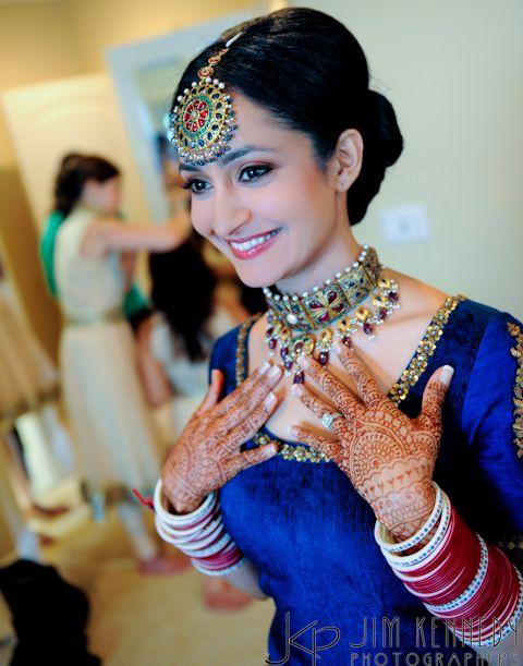 Big Fat Punjabi Wedding #IndianJewellery #OnlineShopping