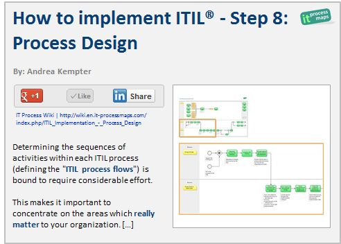 15 best itil templates images on pinterest templates for Itil implementation plan template