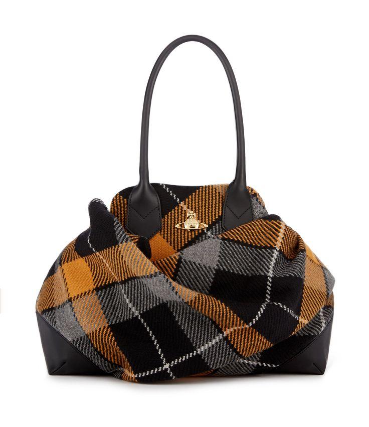 Vivienne Westwood Winter Tartan Bag 6948 James