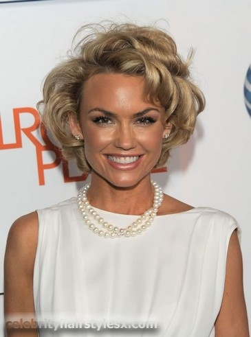 Kelly Carlson...love her and her sassy hair