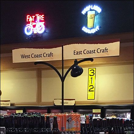 get your beers and beer locations right during store planning they call it the left - Beer Merchandiser