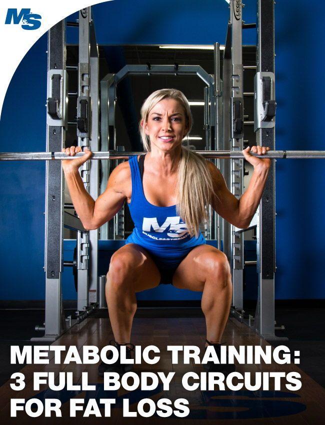 Metabolic Training 3 Full Body Circuits For Fat Loss Training