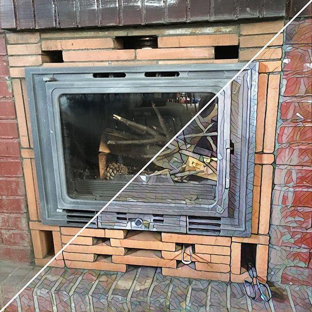 cmo insertar un hogar de fundicin en una chimenea de obra
