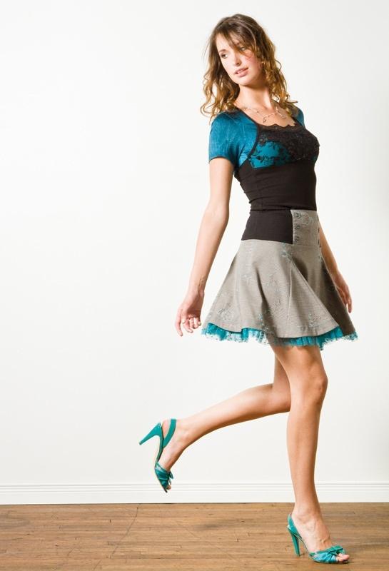 Cendrillon skirt and Nicole t-shirt by Kollontai