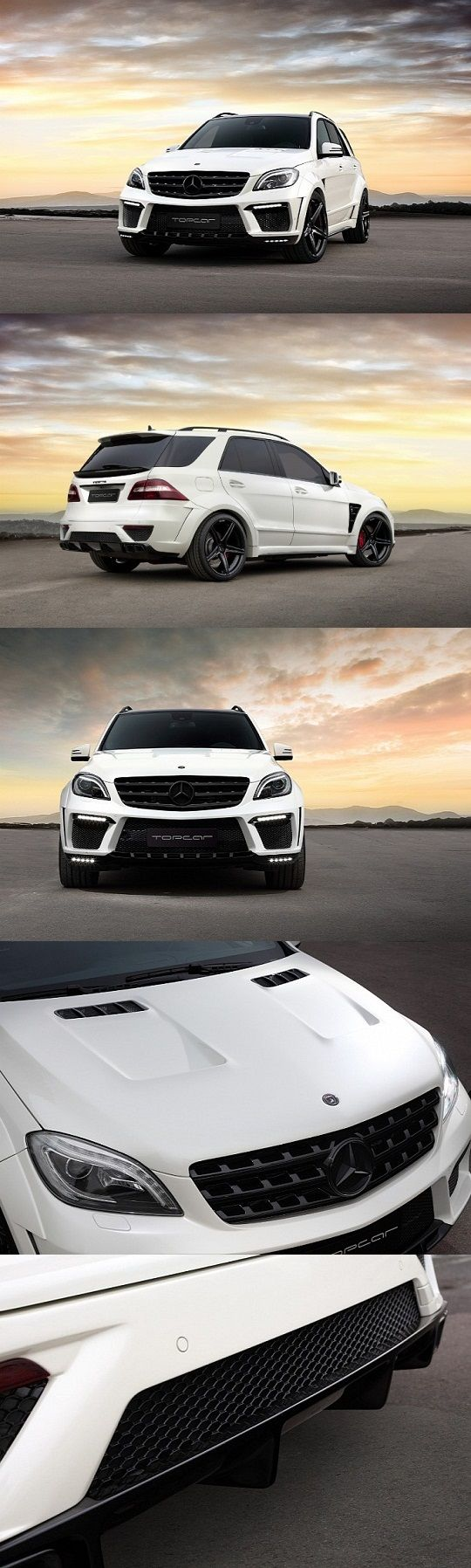 Mercedes Benz ML 63 AMG by TopCar Bumper