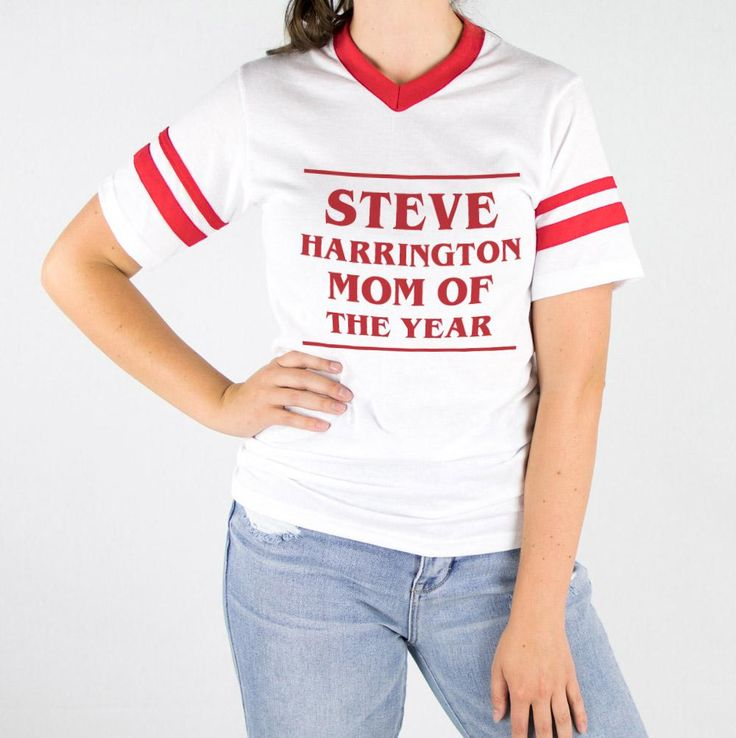 Steve Harrington Mom Of The Year Varsity Tee
